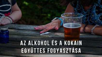 Az alkohol és a kokain együttes fogyasztása nem a legjobb ötlet!