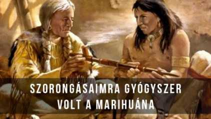 Az indián szertartás. - Orsolics Zénó - Flash-back részlet