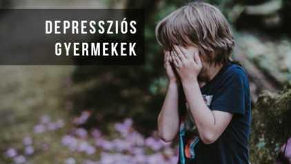 Depressziós gyermekek - Így szenved a Korona generáció